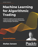 Machine Learning for Algorithmic Trading   Second Edition