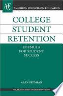 College Student Retention