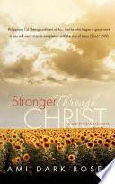 Stronger Through Christ Book PDF