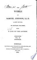 The Works of Samuel Johnson, LL.D.