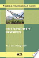 Agro Textiles and Its Applications