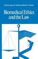 Pdf Biomedical Ethics and the Law