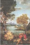 The Scm Dictionary Of Biblical Interpretation