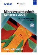 Mikrosystemtechnik Kongress 2005