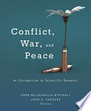 Conflict  War  and Peace Book