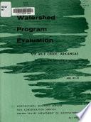 Watershed Program Evaluation
