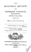 The Monthly Review, Or, Literary Journal