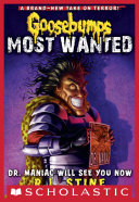 Pdf Dr. Maniac Will See You Now (Goosebumps Most Wanted #5)