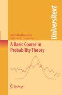 A Basic Course in Probability Theory [Pdf/ePub] eBook