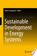 Sustainable Development in Energy Systems