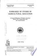 Vocational Education Bulletin