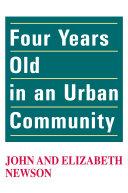 Four Years Old in an Urban Community Pdf/ePub eBook