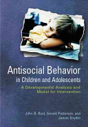 Antisocial Behavior in Children and Adolescents