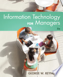 Information Technology for Managers Book