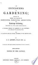 An Encyclop  dia of Gardening Book
