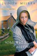 Somewhere to Belong (Daughters of Amana Book #1) Pdf/ePub eBook