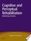 Cognitive And Perceptual Rehabilitation Book PDF