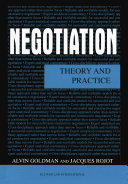 Pdf Negotiation