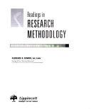Readings In Research Methodology