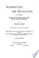 Washington  Or  The Revolution Book
