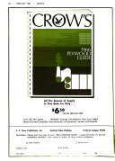Crow s Forest Products Digest