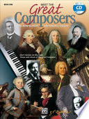 Meet The Great Composers Bk 1 Book Cd