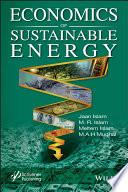 Economics of Sustainable Energy Book