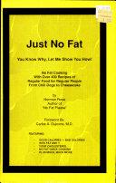 Just No Fat Book