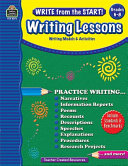 Write from the Start  Writing Lessons Grd 6 8