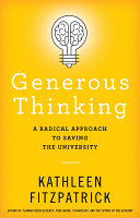 Generous Thinking Pdf/ePub eBook