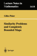 Similarity Problems and Completely Bounded Maps