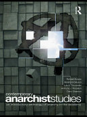 Contemporary Anarchist Studies