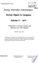 Annual Report to Congress  1977  Volume II