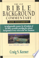 The Ivp Bible Background Commentary New Testament