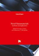 Novel Nanomaterials Book PDF