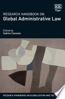 Research Handbook on Global Administrative Law
