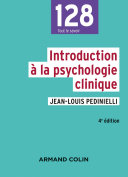 Pdf Introduction à la psychologie clinique - 4e éd. Telecharger