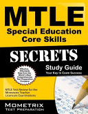 Mtle Special Education Core Skills Secrets Study Guide