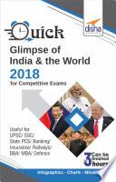 Quick Glimpse of India & the World 2018