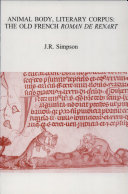 Animal Body, Literary Corpus Pdf