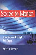 Speed to Market Book