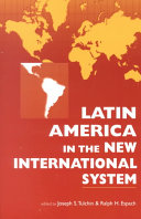 Latin America in the New International System