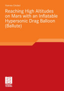Reaching High Altitudes on Mars With an Inflatable Hypersonic Drag Balloon