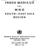 Index Medicus for WHO South East Asia Region