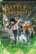The Battle of the Labyrinth: The Graphic Novel Pdf/ePub eBook