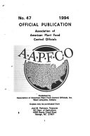 Official Publication   Association of American Plant Food Control Officials
