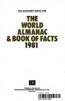 The World Almanac And Book Of Facts 1981