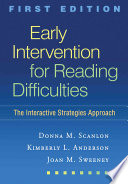 Early Intervention for Reading Difficulties Book