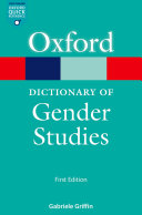 A Dictionary of Gender Studies Pdf