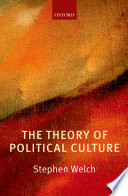 The Theory Of Political Culture